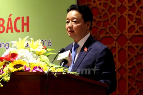Bo truong Tran Hong Ha: 'O nhiem da den nguong khong the chiu tai' - Anh 2