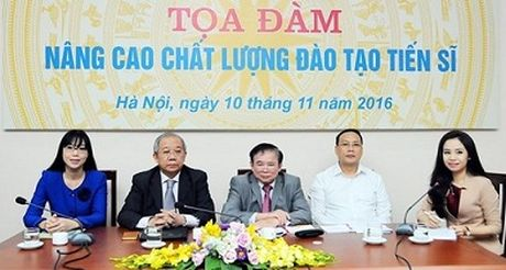 Dao tao tien si: Kiem dinh bang bai bao quoc te - Anh 1