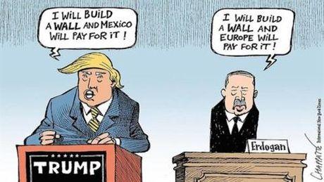 Tho xuong don hiem voi EU: Thoi Trump, the Erdogan - Anh 2