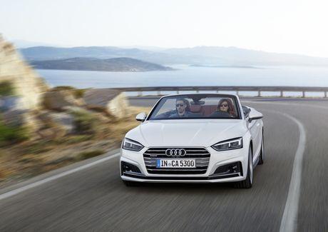 Audi A5 va S5 Cabriolet 2017 lo dien - Anh 1