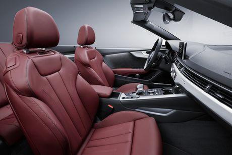 Audi A5 va S5 Cabriolet 2017 lo dien - Anh 4