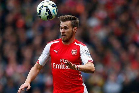 Cu soc: Ramsey lat keo, Man Utd e che - Anh 1
