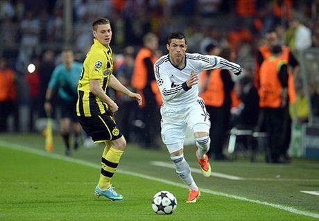 Ronaldo ngan nhat doi thu nao o Champions League? - Anh 1