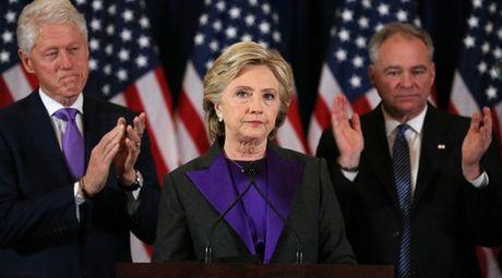Hillary Clinton thua nhan that bai trong bai phat bieu lay dong ca doi thu - Anh 1