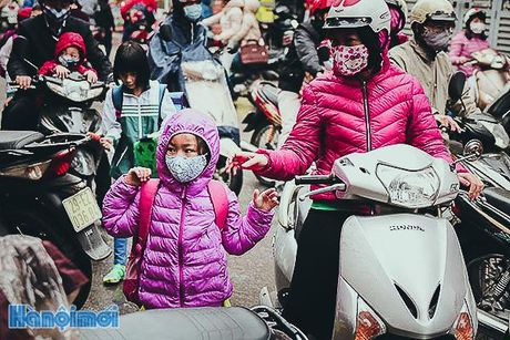 Ha Noi ret dam nhung ngay dau dong - Anh 1