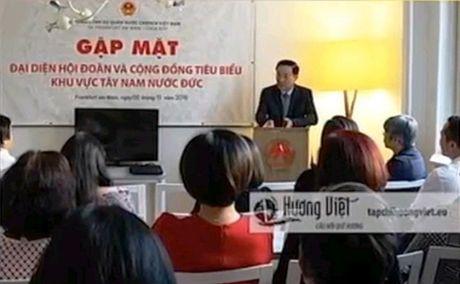 Gap mat cong dong nguoi Viet tieu bieu tai CHLB Duc - Anh 1