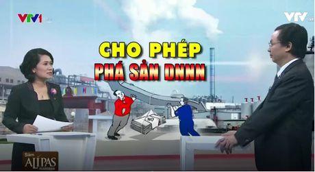 Cho phep pha san doanh nghiep nha nuoc: Quyet liet tai co cau nen kinh te - Anh 1