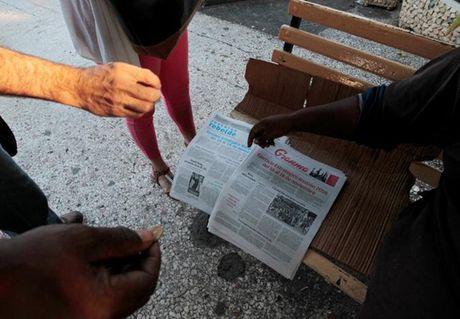 Cuba tuyen bo tap tran sau khi ong Trump dac cu - Anh 1
