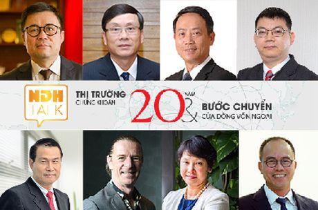 Toa dam NDH Talk 2 chu de '20 nam TTCK va buoc chuyen dong von ngoai' to chuc ngay 16/11 - Anh 1