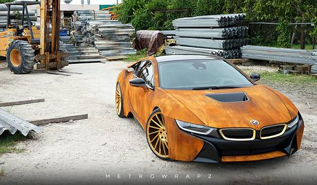 La mat voi chiec BMW i8 do mau gi sat 'cuc doc' - Anh 6