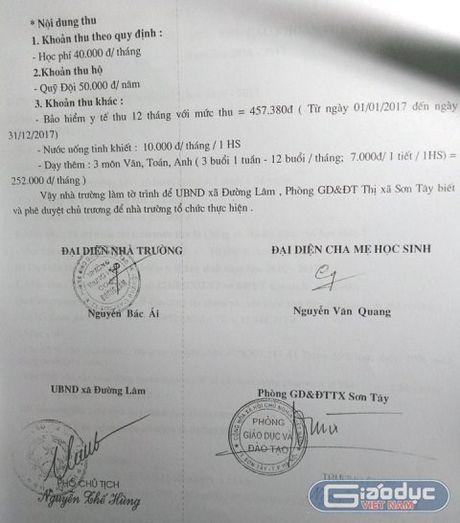 Truong Duong Lam lam thu, Hieu truong bao bien vi giao vien ne nang moi cam tien - Anh 3