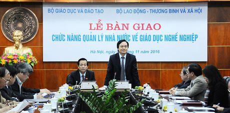 Tu nam 2017, sinh vien cao dang hoc theo chuong trinh moi cua Bo Lao dong - Anh 1