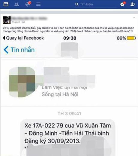 Xac dinh danh tinh chu xe Innova gay tai nan tren duong Vo Chi Cong - Anh 3