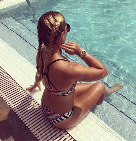 """Nang Lo Lem"" tennis khoe anh bikini hut hon o Maldives - Anh 5"
