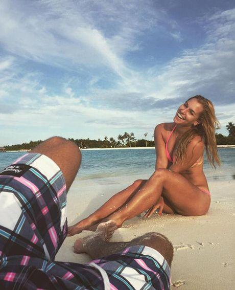 """Nang Lo Lem"" tennis khoe anh bikini hut hon o Maldives - Anh 6"