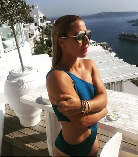 """Nang Lo Lem"" tennis khoe anh bikini hut hon o Maldives - Anh 7"