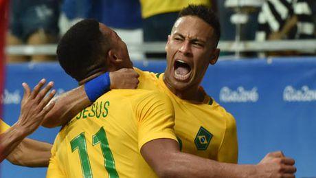 Brazil – Argentina: Canh en Messi & dan sao quanh Neymar - Anh 3