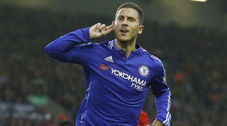 "Chelsea: Hazard bung no nho duoc ""yeu"" nhu Messi, CR7 - Anh 1"