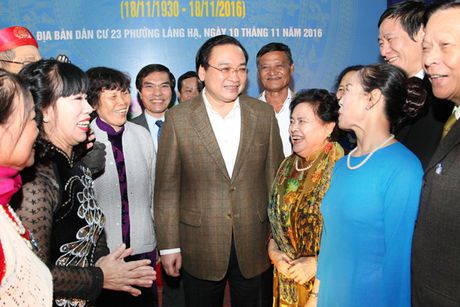 Bi thu Thanh uy Ha Noi Hoang Trung Hai: Can nhan rong nep song van hoa, doan ket - Anh 1