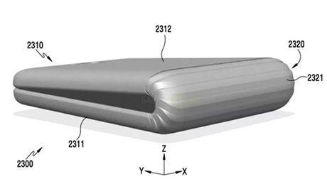 Samsung dang ky bang sang che dien thoai gap - Anh 1