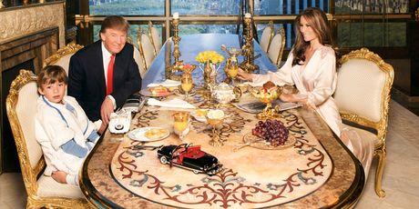 Chiem nguong ve dep trong can penthouse dat vang cua ngai Donald Trump - Anh 10