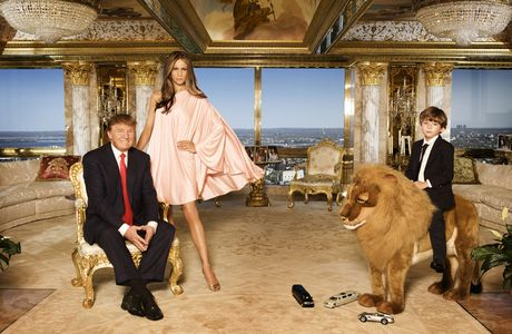 Chiem nguong ve dep trong can penthouse dat vang cua ngai Donald Trump - Anh 11