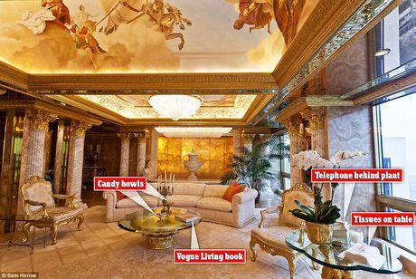 Chiem nguong ve dep trong can penthouse dat vang cua ngai Donald Trump - Anh 3