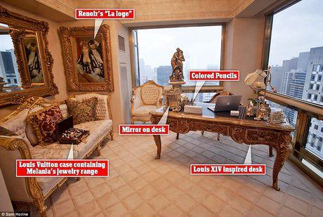 Chiem nguong ve dep trong can penthouse dat vang cua ngai Donald Trump - Anh 4
