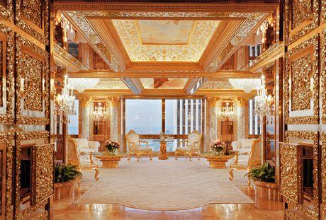 Chiem nguong ve dep trong can penthouse dat vang cua ngai Donald Trump - Anh 6