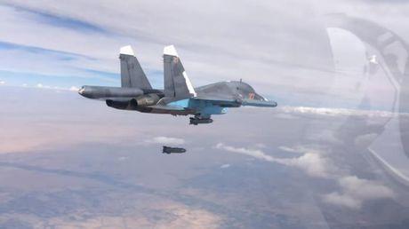 Chien su Syria: Khong quan Nga tung don tieu diet luong lon phien quan - Anh 1