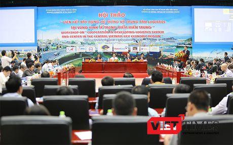 Mien Trung ban lien ket xay dung Trung tam logistics vung - Anh 1