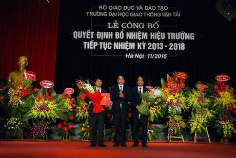 Truong Dai hoc GTVT co Hieu truong moi - Anh 1