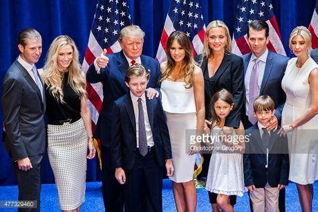 5 nguoi con cua Donald Trump –hau phuong vung chac cho thanh cong cua cha - Anh 1