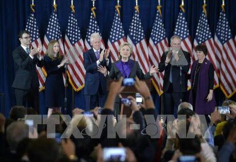 Bau cu My 2016: Ba H.Clinton keu goi nguoi dan My huong toi tuong lai - Anh 1