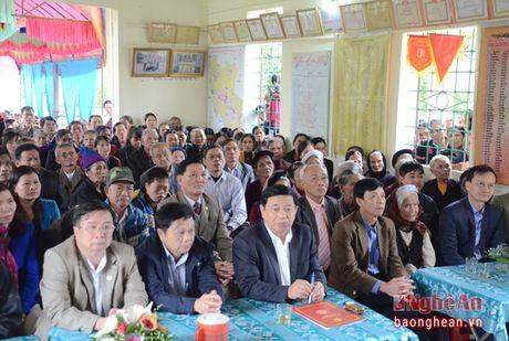 Chu tich UBND tinh Nguyen Xuan Duong: 'Khu dan cu manh thi xa, huyen manh, tinh manh' - Anh 1