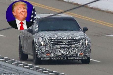 Tan Tong thong My Donald Trump co 'The Beast' moi hien dai hon - Anh 1