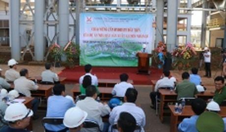 Nha may Alumin Nhan Co san xuat thanh cong san pham Hydrate dau tien - Anh 1