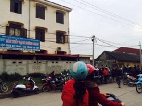 Thai Nguyen: No lo hoi khien hai nguoi tu vong, bay nguoi bi thuong - Anh 1