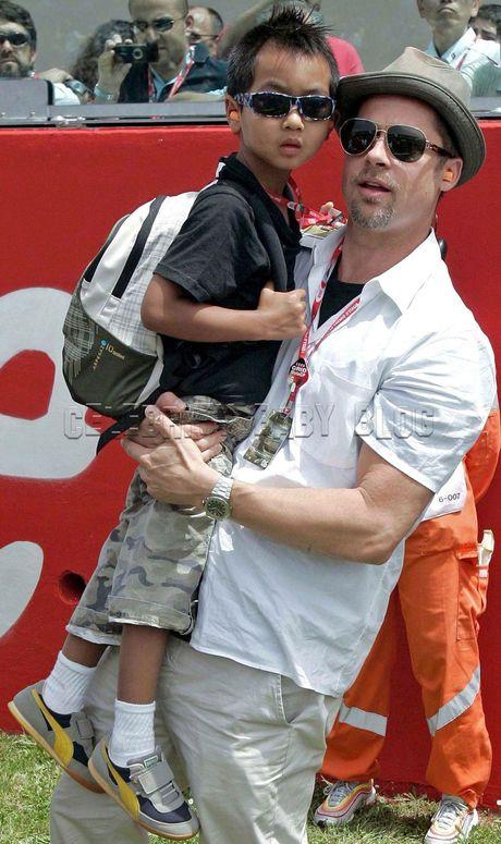 Brad Pitt duoc minh oan ve cao buoc bao hanh con - Anh 1