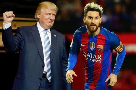 Messi dan truoc Ronaldo trong cuoc bau cu Tong thong My - Anh 1