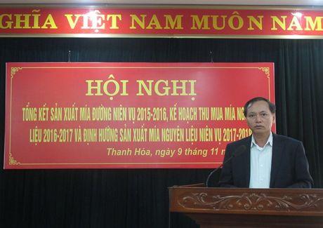 Thanh Hoa quyet tam tai co cau nganh mia duong - Anh 1