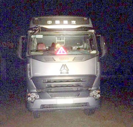 Binh Dinh: Bat doi tuong trom xe dau keo trong dem - Anh 1