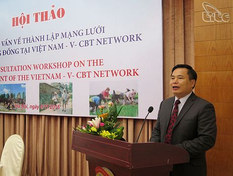 Hoi thao tham van ve thanh lap mang luoi du lich cong dong tai Viet Nam - Anh 2