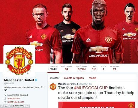 Man United tuyen bo 'vo doi' tren facebook, co suc hut nhu mot ton giao - Anh 1