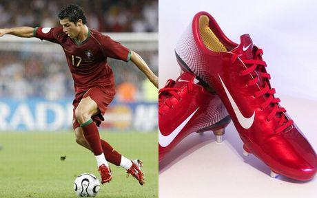 Chum anh: 15 doi giay may man nhat cua Cristiano Ronaldo - Anh 13