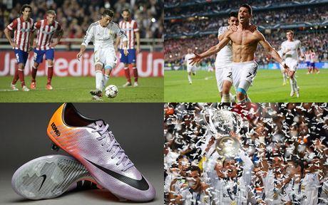 Chum anh: 15 doi giay may man nhat cua Cristiano Ronaldo - Anh 3