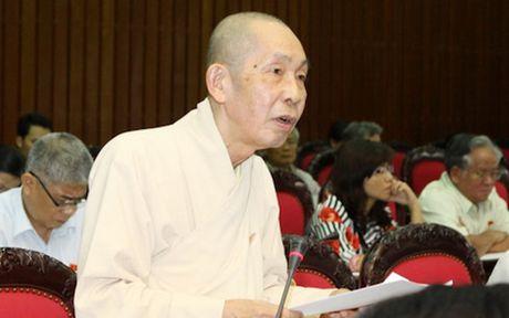 Quoc hoi mac niem tuong nho Hoa thuong Thich Chon Thien - Anh 1