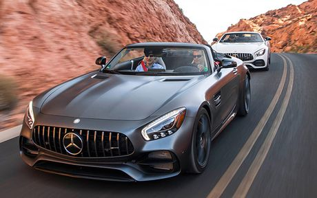Can canh phien ban 2018 cua Mercedes-AMG GT/GT C - Anh 1