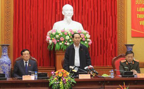 Chu tich nuoc:'Khong de ke pham toi ao tuong nuoc ngoai la noi an nau' - Anh 1
