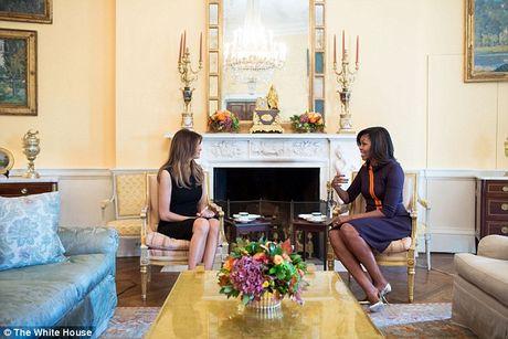 Phu nhan ong Trump lan dau den Nha Trang gap ba Michelle Obama - Anh 1